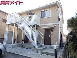 三重県四日市市伊倉2丁目の賃貸アパートの外観