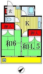 高橋マンション[6階]の間取り