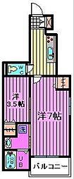 サンドリム[1階]の間取り