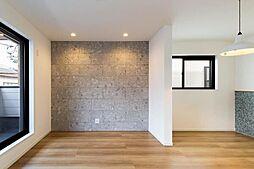 神戸市灘区天城通8丁目新築戸建 4LDKの居間