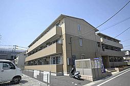 埼玉県三郷市中央1丁目の賃貸アパートの外観