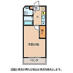 長野県諏訪市元町の賃貸マンションの間取り