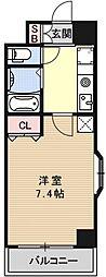 Sakura Residence[501号室号室]の間取り