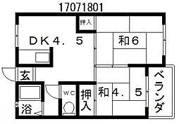 長池和田ビル[1階]の間取り