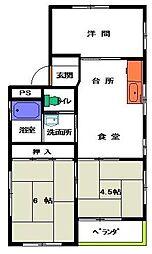 シュロス京南 bt[301kk号室]の間取り