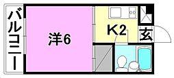 福音寺駅 1.9万円