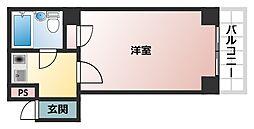 グレース帝塚山[2階]の間取り