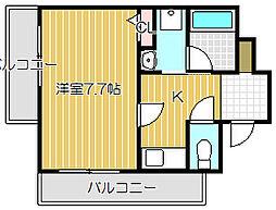 ベル・フルール[2階]の間取り