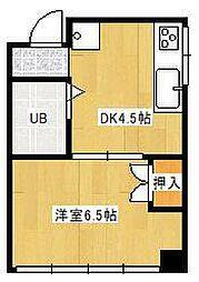 ライクハウス[301号室]の間取り
