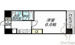 エステムコート梅田天神橋IIグラシオ[12階]の間取り