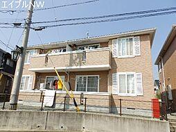 三重県松阪市嬉野中川新町3丁目の賃貸アパートの外観