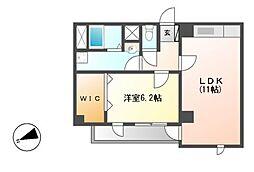 藤陽ビル[3階]の間取り