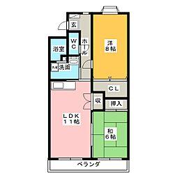 URBAN  STAGE  21[4階]の間取り