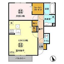 岩瀬駅 6.0万円