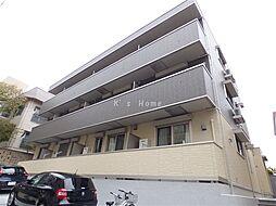 兵庫県神戸市中央区熊内町4丁目の賃貸アパートの外観