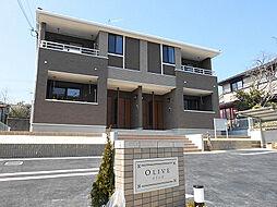 兵庫県神戸市北区北五葉1丁目の賃貸アパートの外観