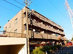 三重県桑名市大字播磨の賃貸マンションの外観