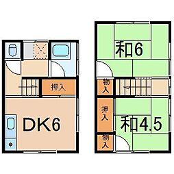 松山荘[5号室]の間取り