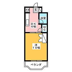 クラウド[2階]の間取り