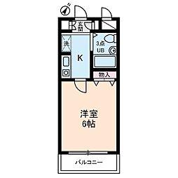 菱和パレス西新宿[4階]の間取り