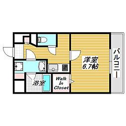カーサ・みなみ[3階]の間取り
