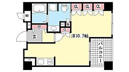リーガル神戸中山手通[6階]の間取り