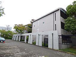 兵庫県芦屋市川西町の賃貸マンションの外観