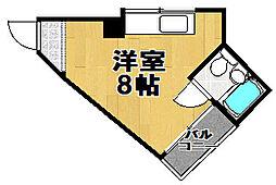 メゾンブランシェ1番館[3階]の間取り