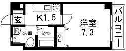 Ritz新今里(リッツシンイマザト)[306号室号室]の間取り