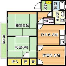 プラゾオリジン A棟[1階]の間取り