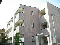 愛知県岡崎市上和田町字城前の賃貸アパートの外観