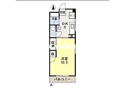 第三平井ビル[4階]の間取り