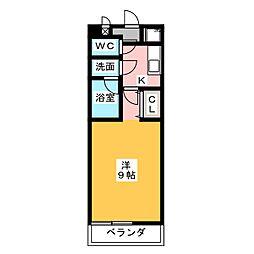 楽美マンション[3階]の間取り