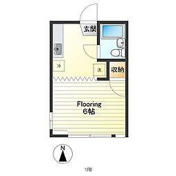 h1114[106号室]の間取り