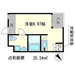 S-COURT[3階]の間取り