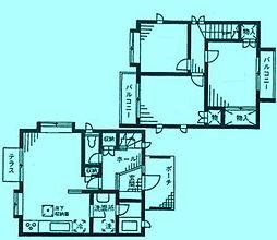 ヴェルドミール梶ヶ谷A棟[1階]の間取り