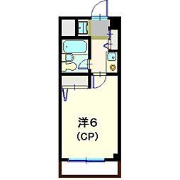 セントポーリア大倉山[102号室]の間取り