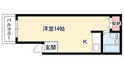 香坂YN[C1号室]の間取り