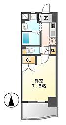 昴名駅南[3階]の間取り