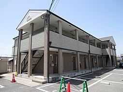 大阪府岸和田市西大路町の賃貸アパートの外観