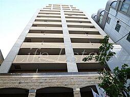 大阪府大阪市中央区博労町3丁目の賃貸マンションの外観