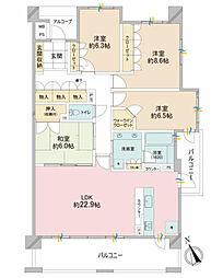 レクセルはるひ野フォレスタ(6階)