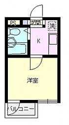 上福岡メゾンスタット[306号室号室]の間取り