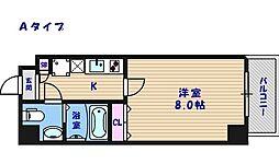 FDS住吉公園[1階]の間取り