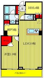 都営三田線 西巣鴨駅 徒歩9分の賃貸マンション 7階1SLDKの間取り