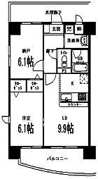 千羽鶴[3階]の間取り