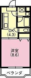 リュミエール1[105号室]の間取り