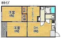 沢之町駅前ビル[3階]の間取り