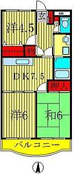 オオクマレジデンス21[2階]の間取り