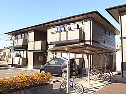 兵庫県姫路市飾磨区上野田4丁目の賃貸アパートの外観